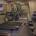 AHEA Conference 2018 Hotel Residence Inn work out room