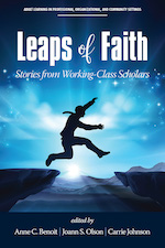 Book cover for Leaps of Faith AHEA book